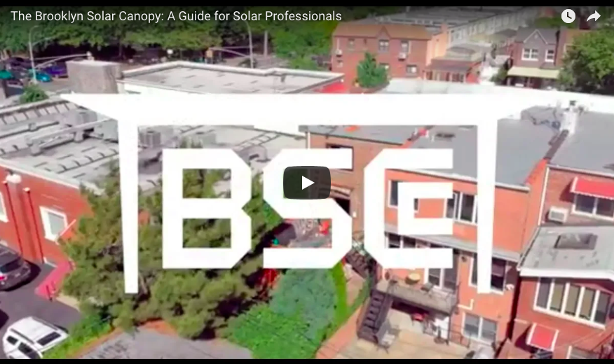 [WATCH] The Brooklyn Solar Canopy: A Guide for Solar Professionals